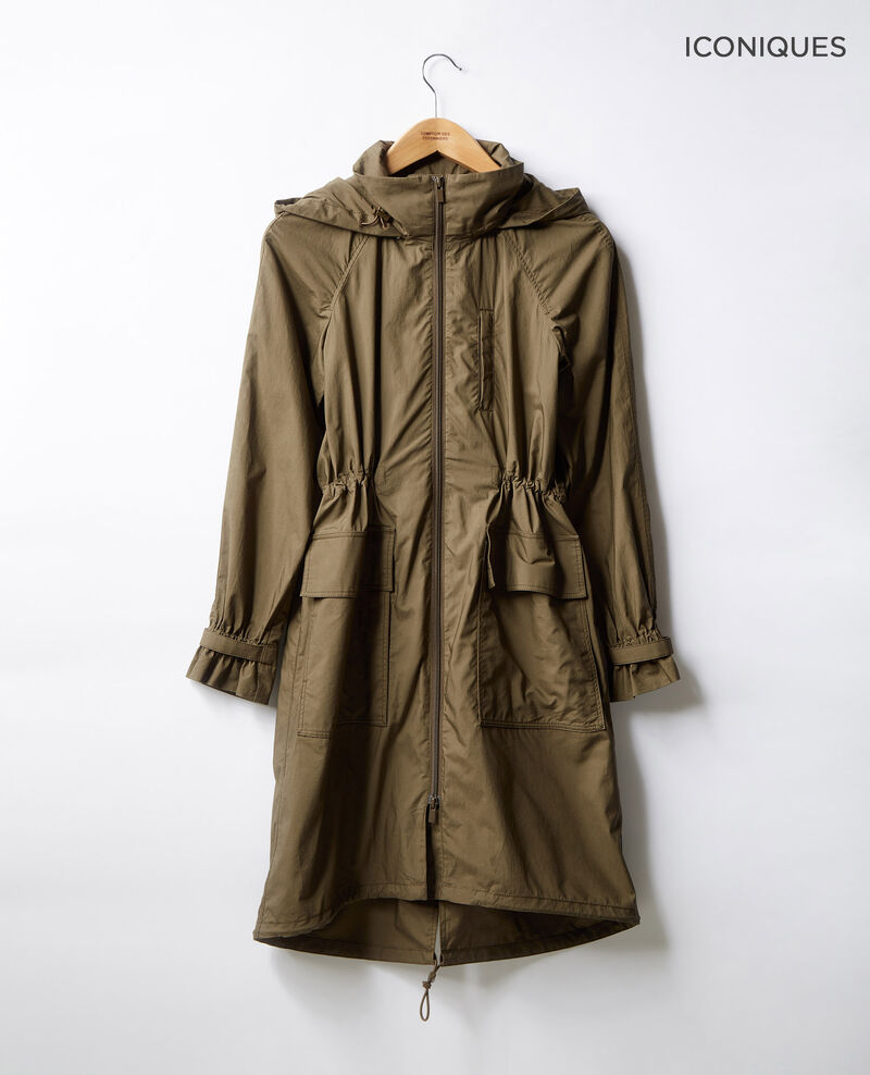 Light parka Dark kaki Freedom