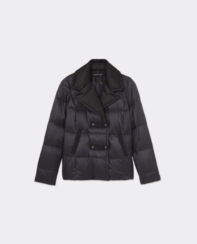 Car Coat Down Jacket | ONLINE EXCLUSIVE NOIR/NOIR