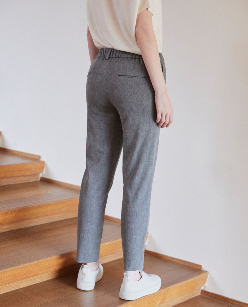 Carrot trousers Medium grey Galetto