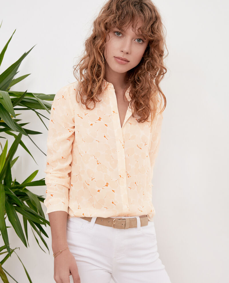 Loose shirt Blossom shadow biscuit Filament