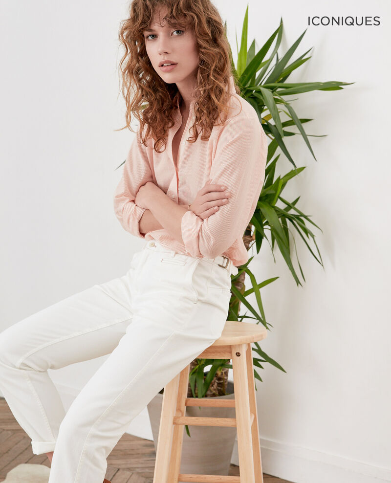 Chino-style jeans OFF WHITE