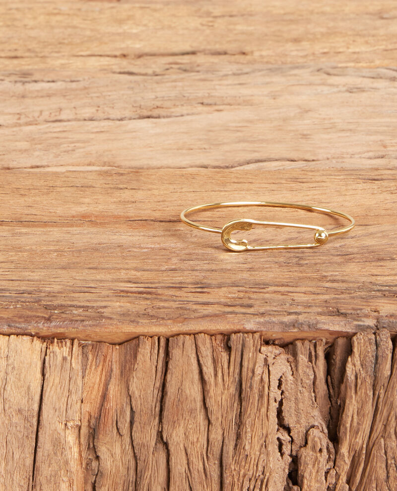 Safety pin bracelet Gold Formidable