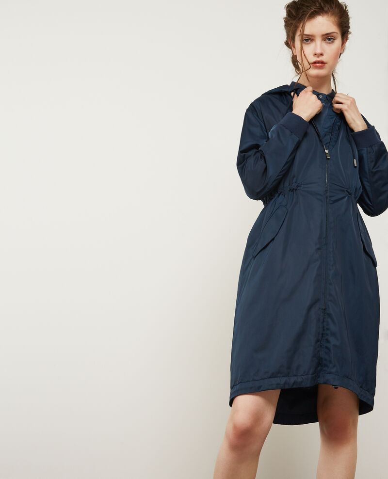 Parka with removable hood Deep sea Daccuerdo
