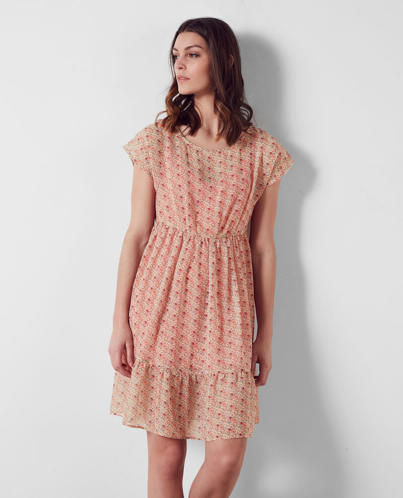 Light and airy print dress Coklico misty rose Calmoral