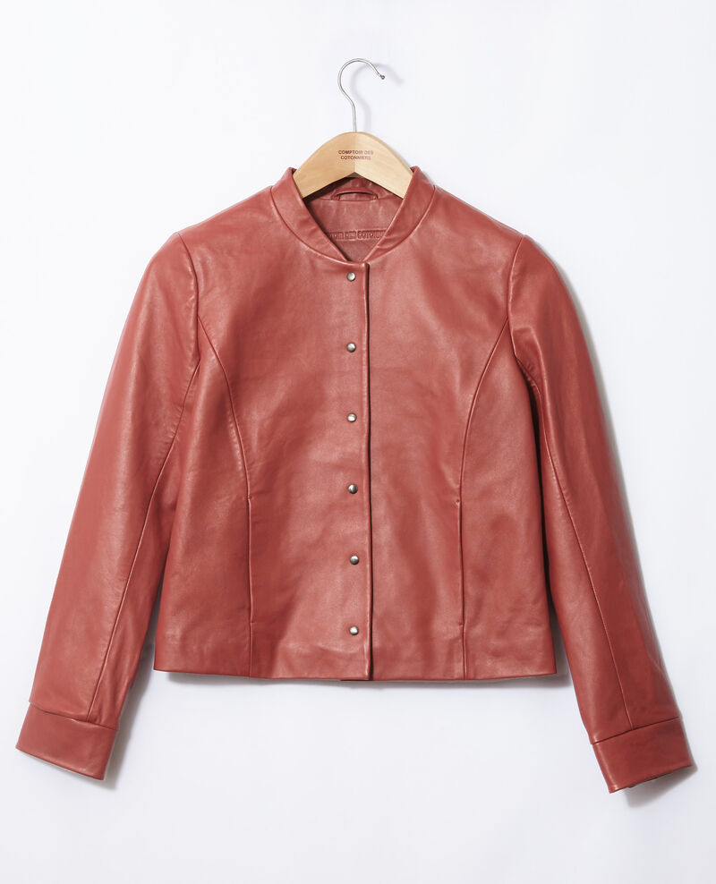 Leather bomber jacket Cowhide Gabinien