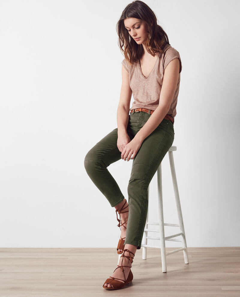 Cropped jeans Army Cagio