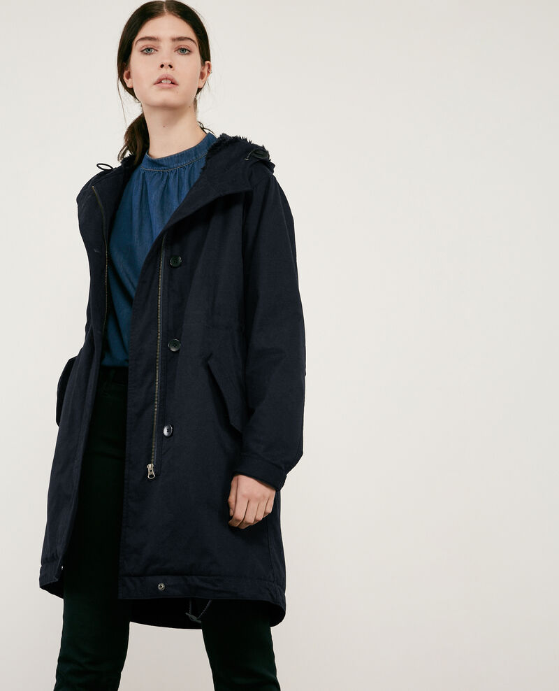 Long parka NAVY