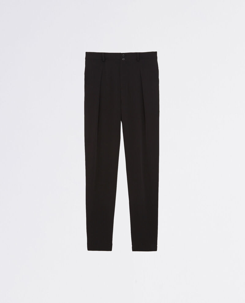 Loose-fit trousers Noir Chauvin