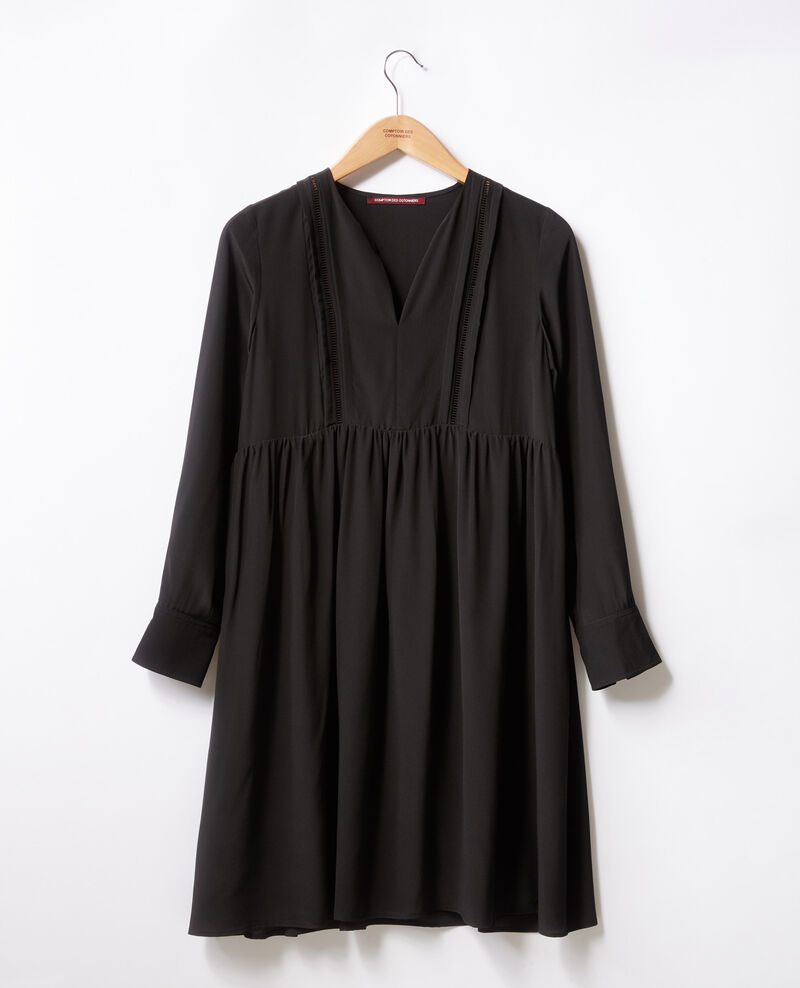 Silk dress Noir Fomme