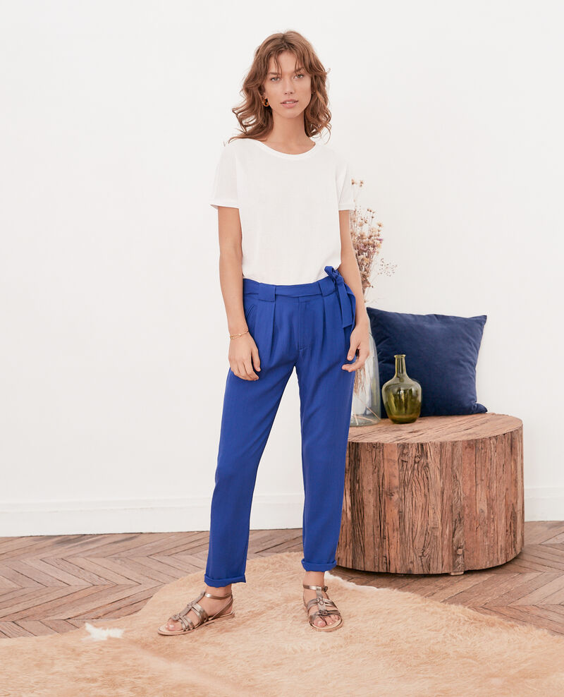 Loose trousers Ultra marine Flavier