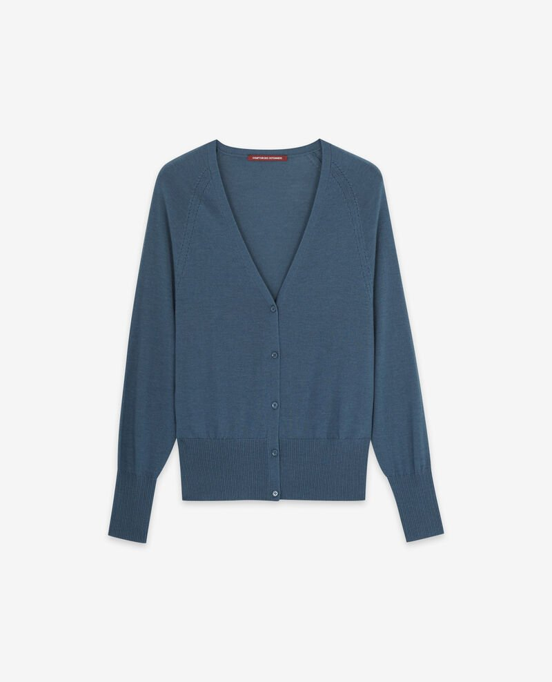 Merino wool cardigan Denim Doubt