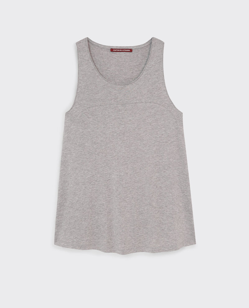 Sparkly tank top Gris chine Cyclone