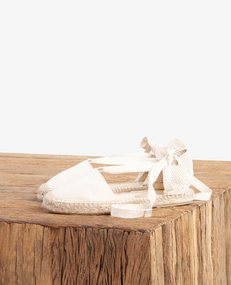Flat espadrilles ECRU/SAILOR STRIPES
