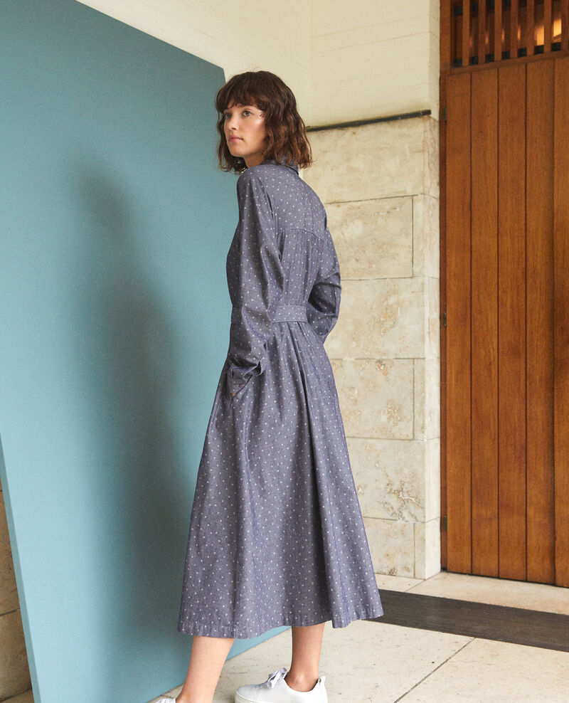 Mid-length dress Wp peacoat Goze