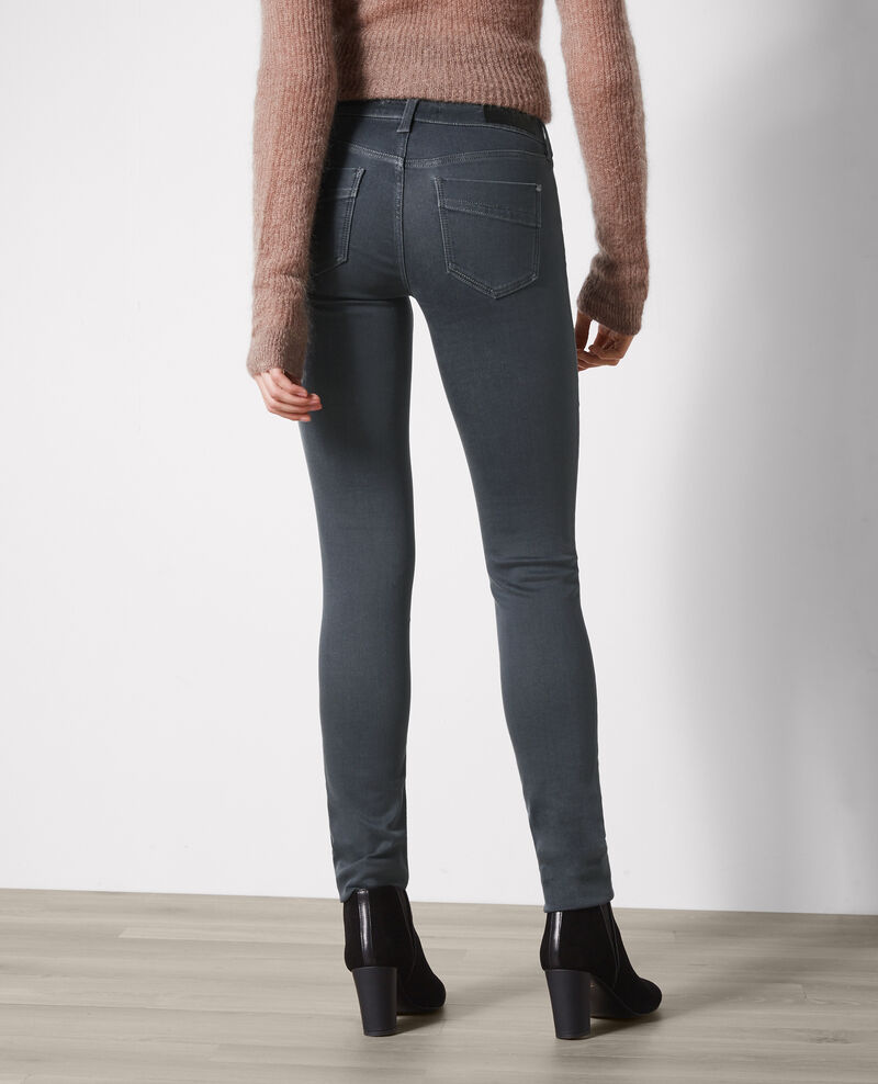 Ma demoiselle slim-fit jeans Dark grey Cibou