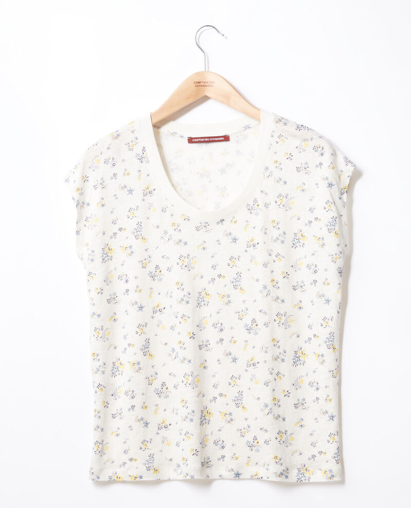 Floral print T-shirt Lillybell kaolin Franka