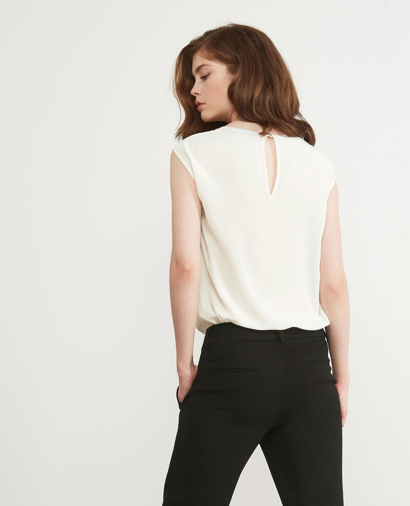 Silk blouse Off white Durant