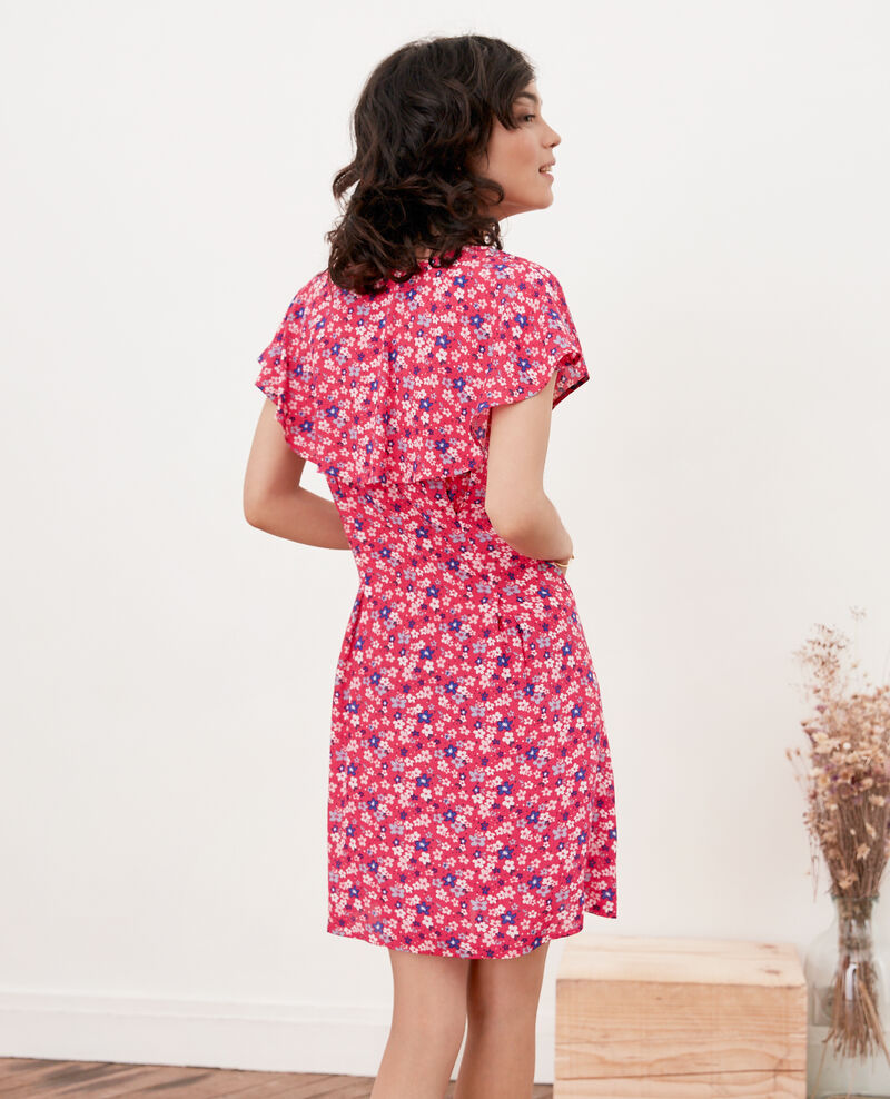 Printed dress Honolulu ultra pink Frenchy