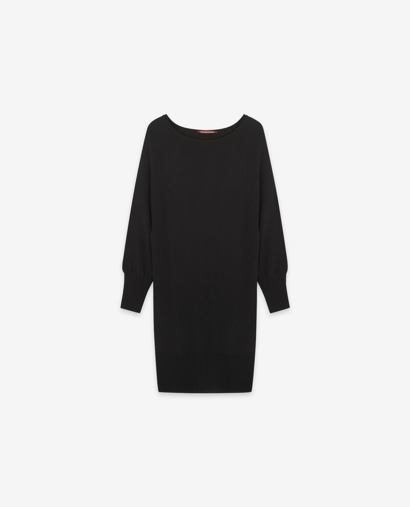 100% merino dress Noir Doison