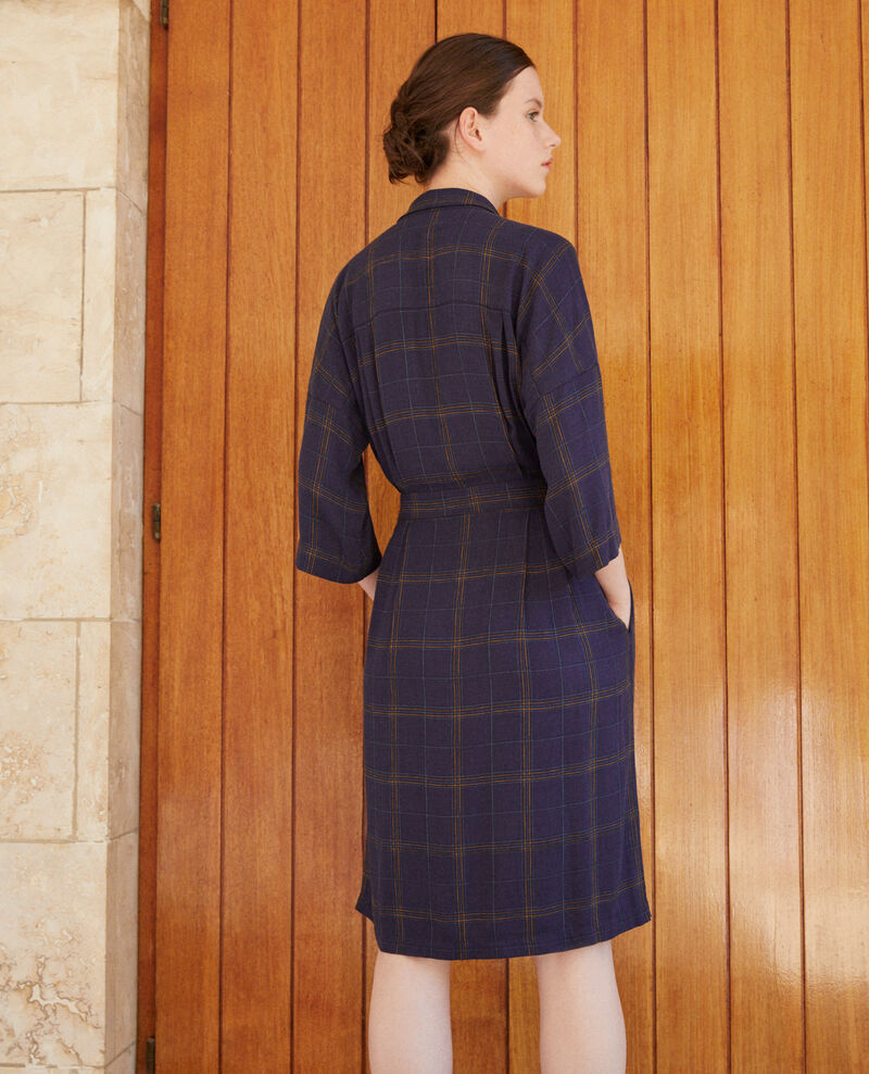 Wrap dress Tea time peacoat Guicharde