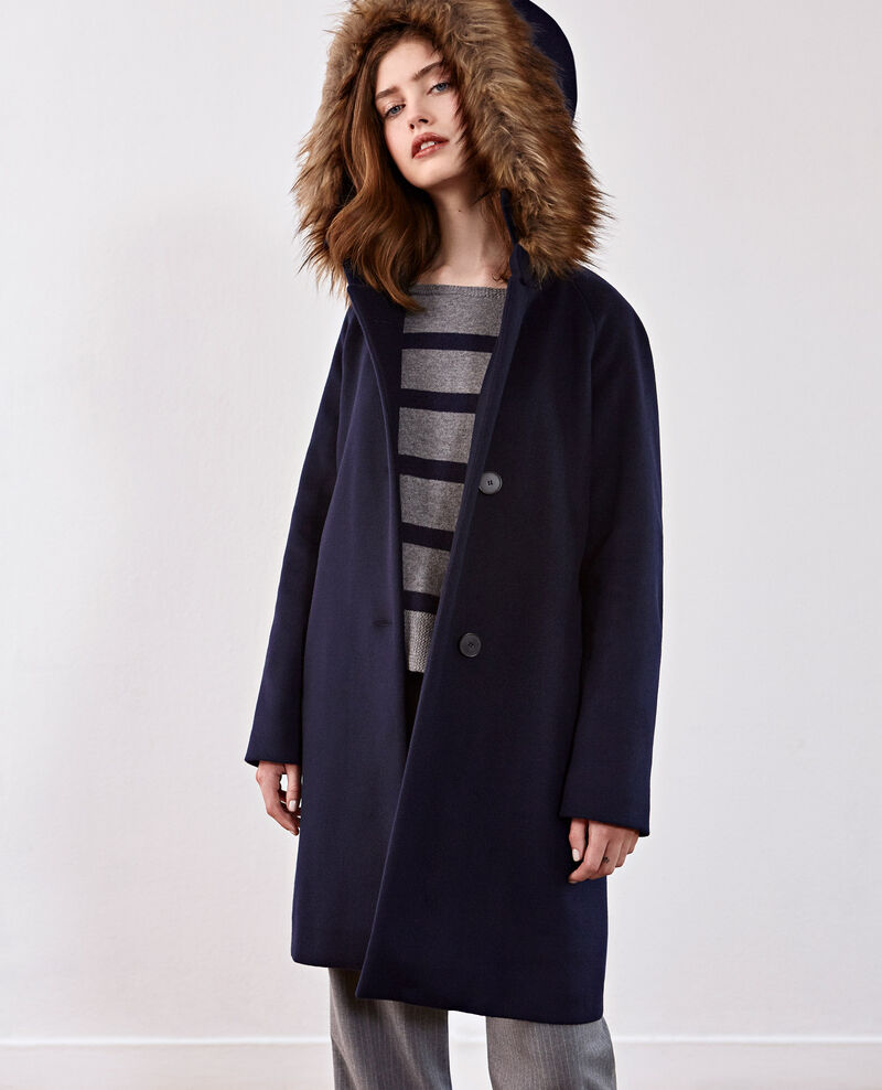 Wool coat Navy Dalexo