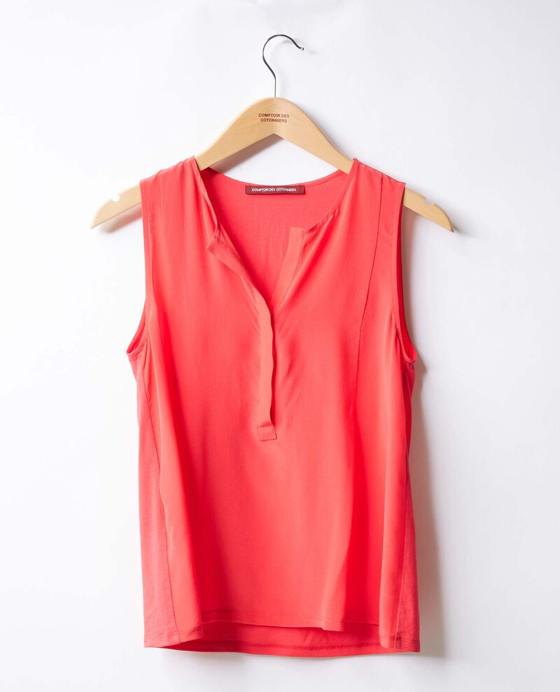 Sleeveless top ULTRA PINK