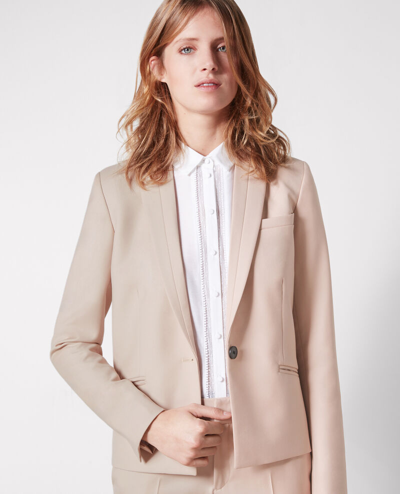 Wool blazer Misty rose Cinemo