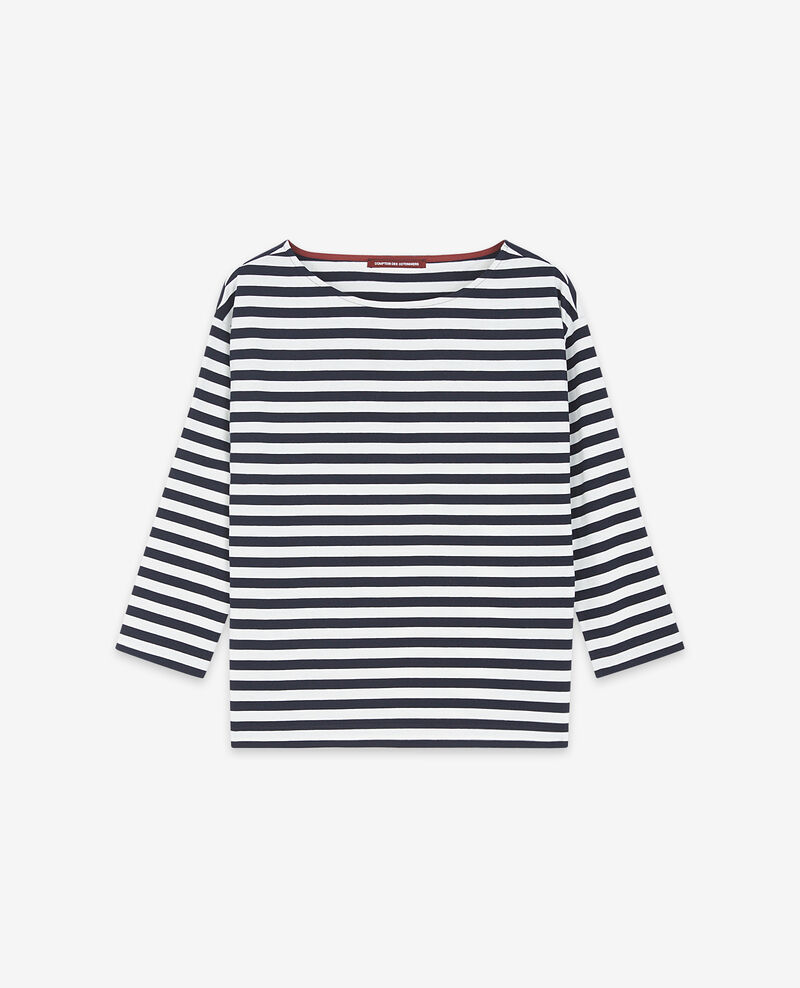 Striped t-shirt Navy/off white Ditoc