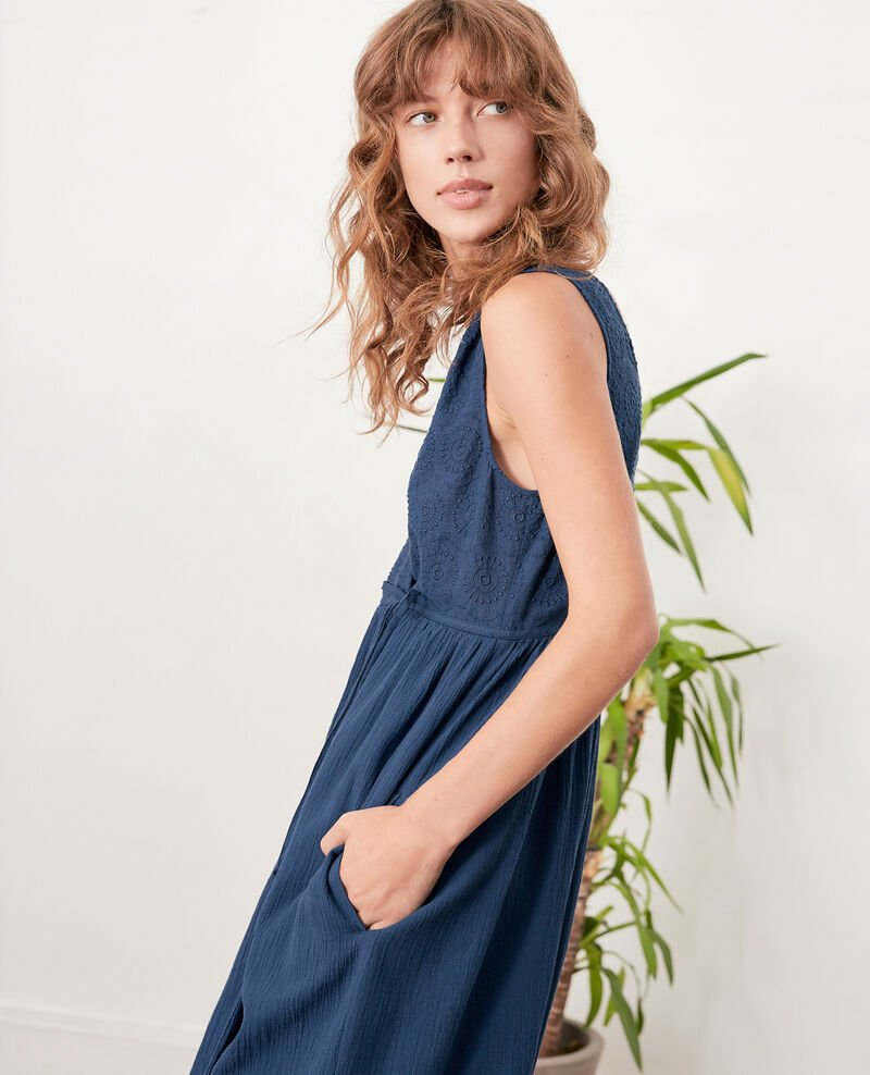 Wrap dress Indigo Filo
