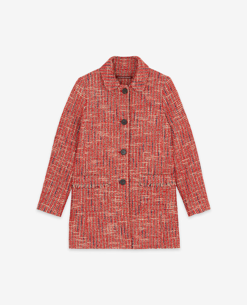 Tweed coat Orange red Dexception