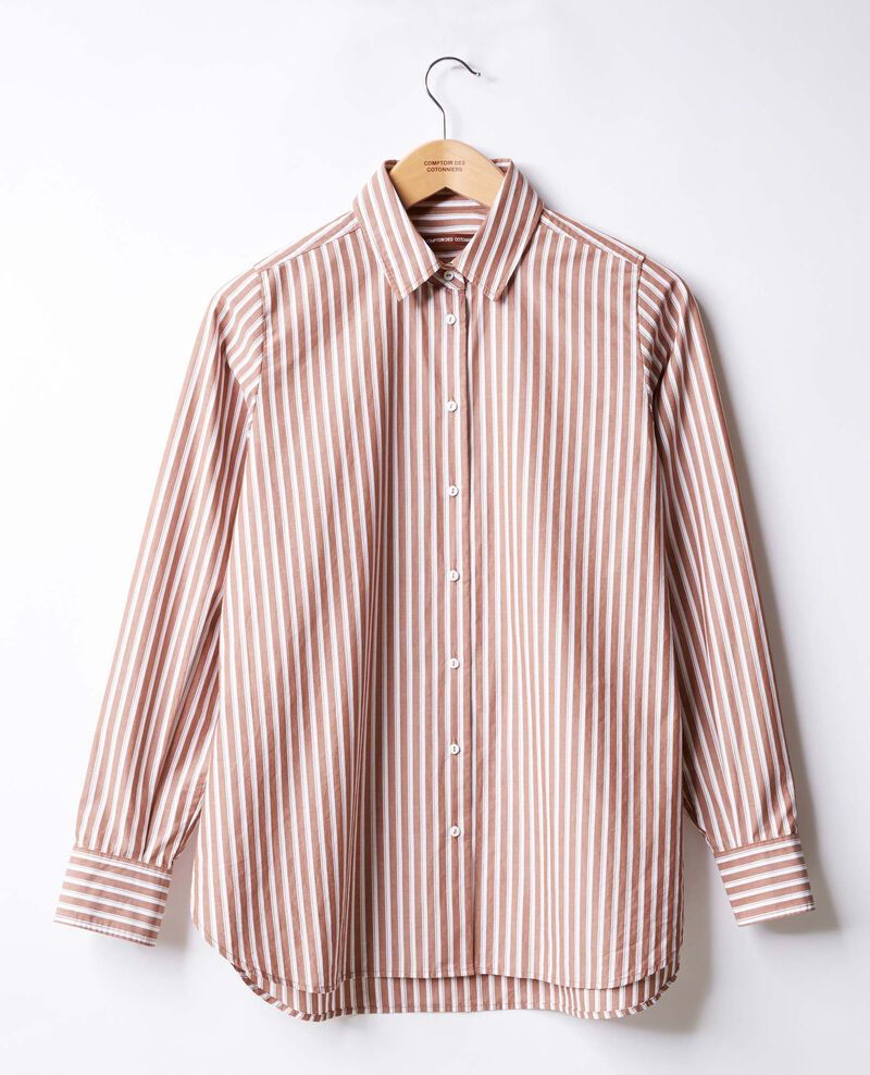 Striped oversize shirt Auburn stripes Fregate