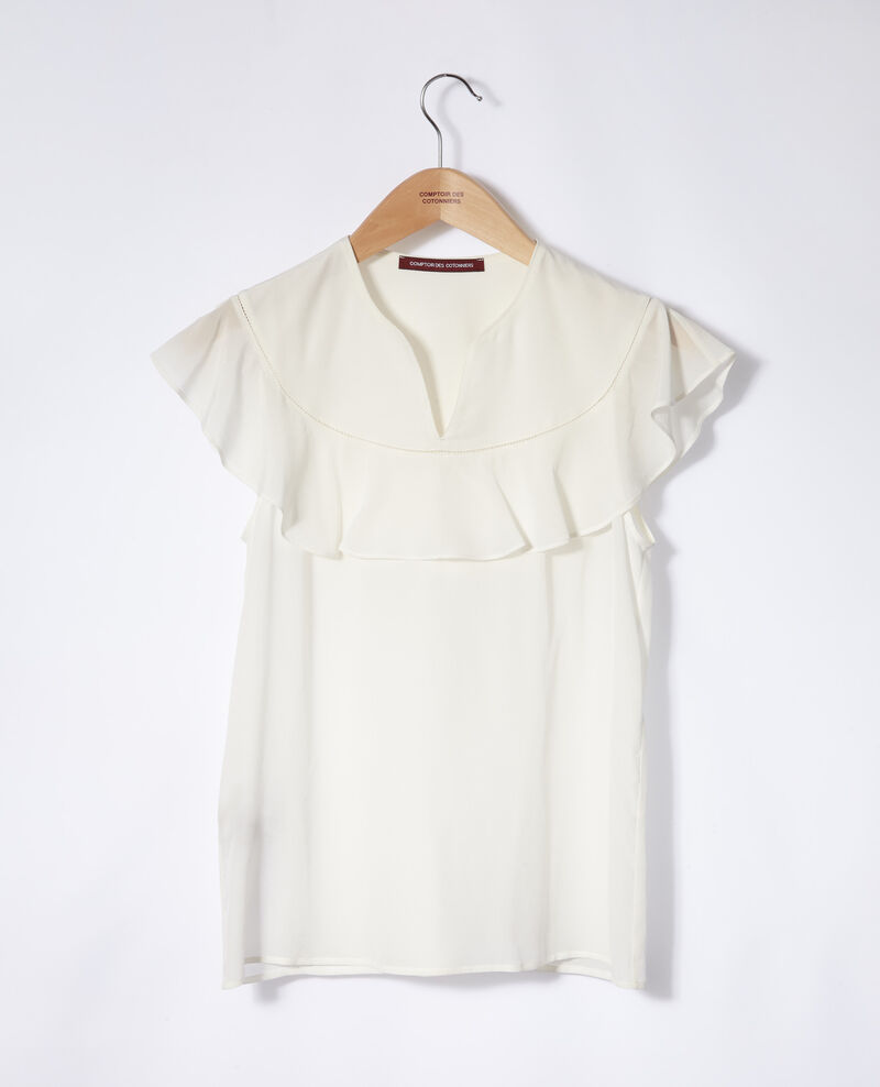 Frilly blouse Off white Gauche