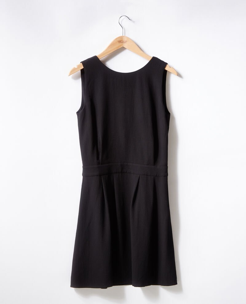 Dress with low-cut back Noir Fidele