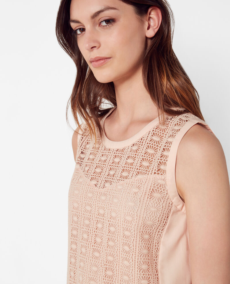 Lace top Nude Cambria