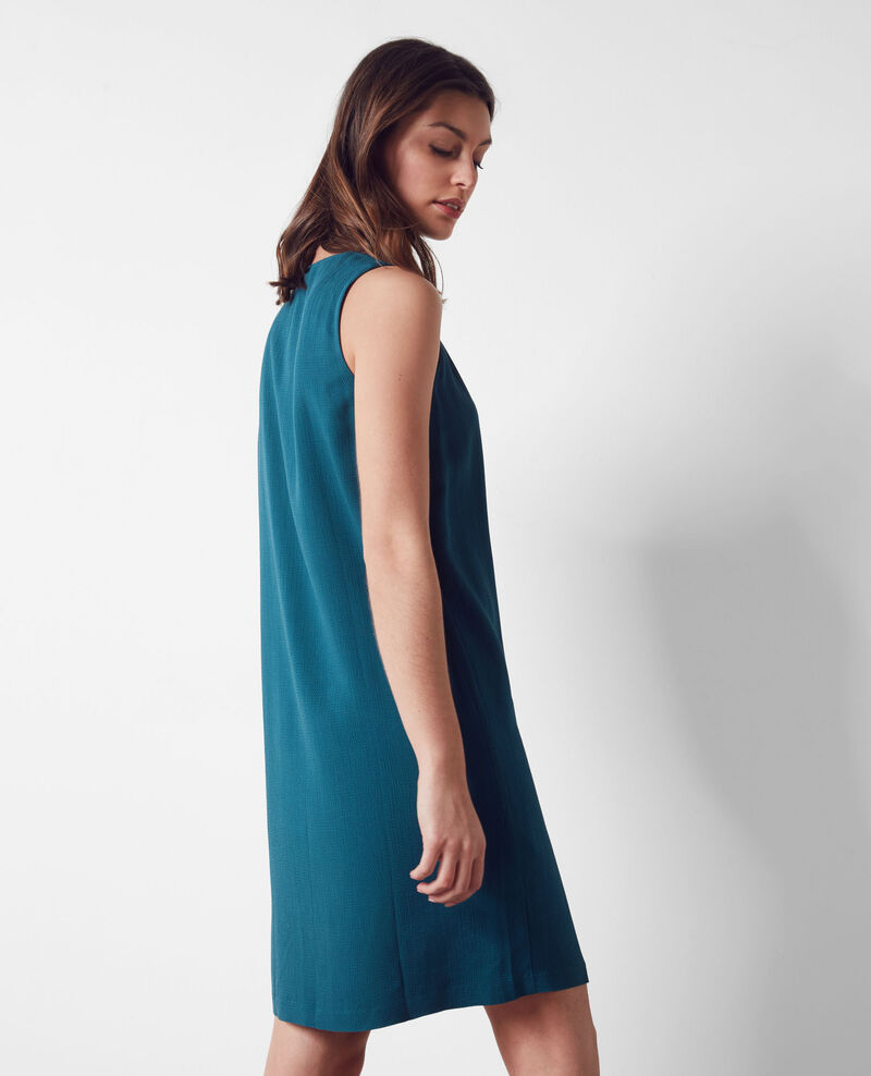 Loose dress Berlin blue Corelia