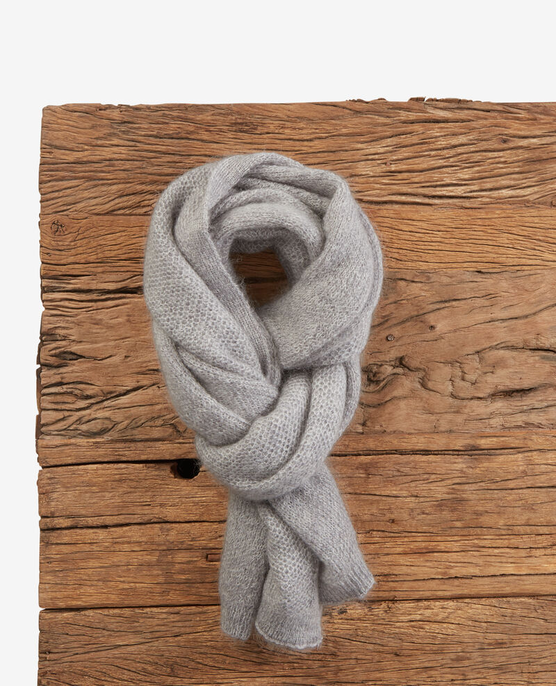 Mohair scarf Light grey Djalie