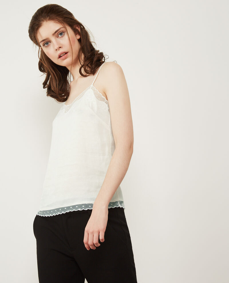 Printed top Off white Dacha