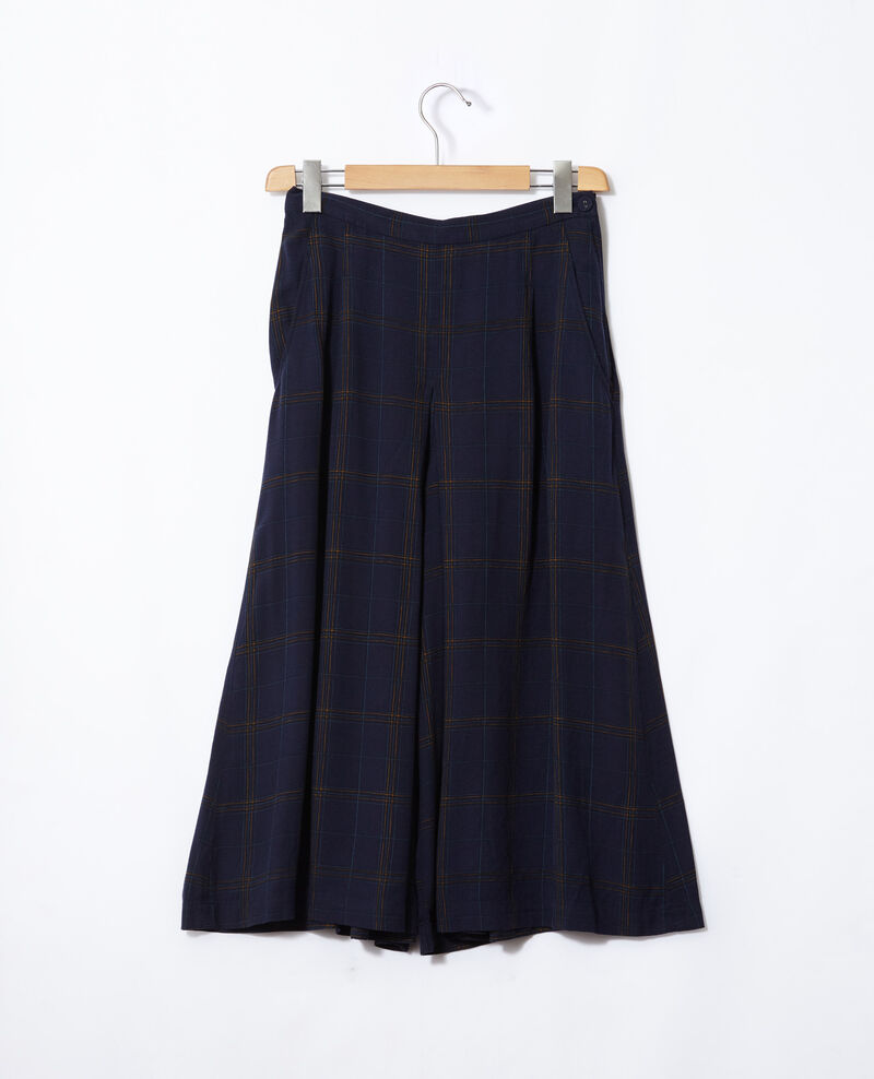 Flared culotte skirt Tea time peacoat Gickey