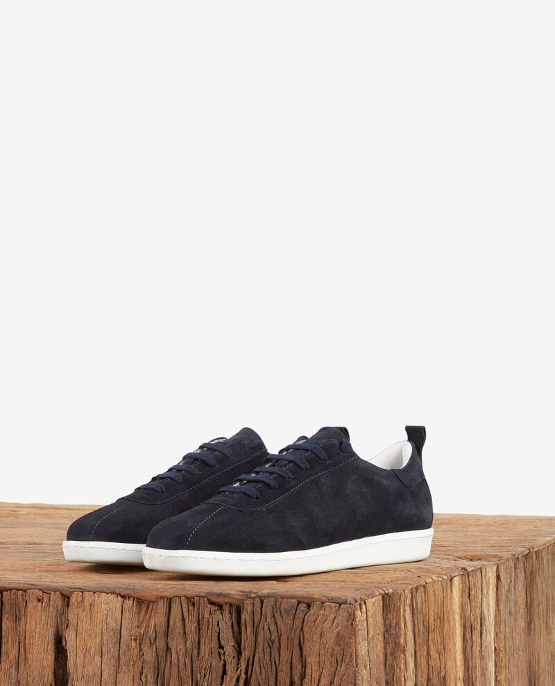 Leather sneakers Navy Felaver