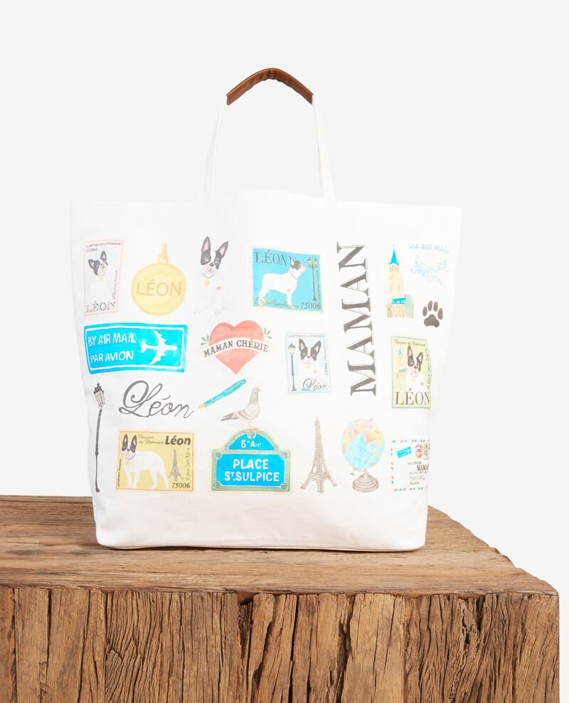 Mother's Day tote bag OFF WHITE