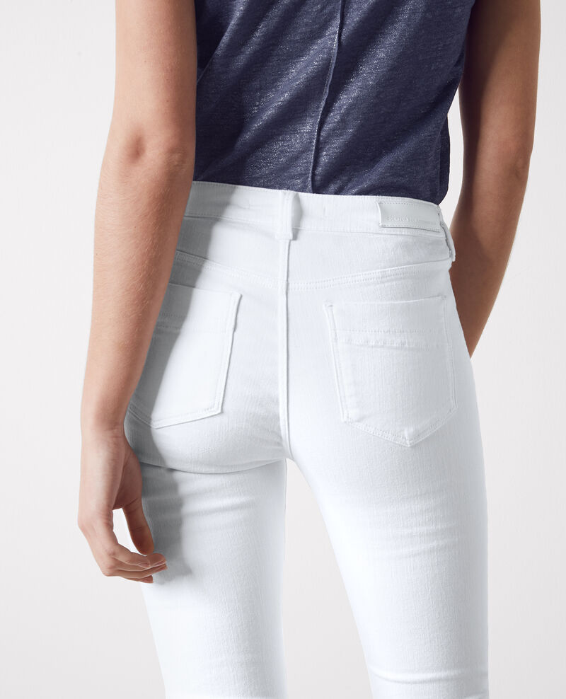 """Folie douce"" high-rise flared jeans  Off white Capetown"