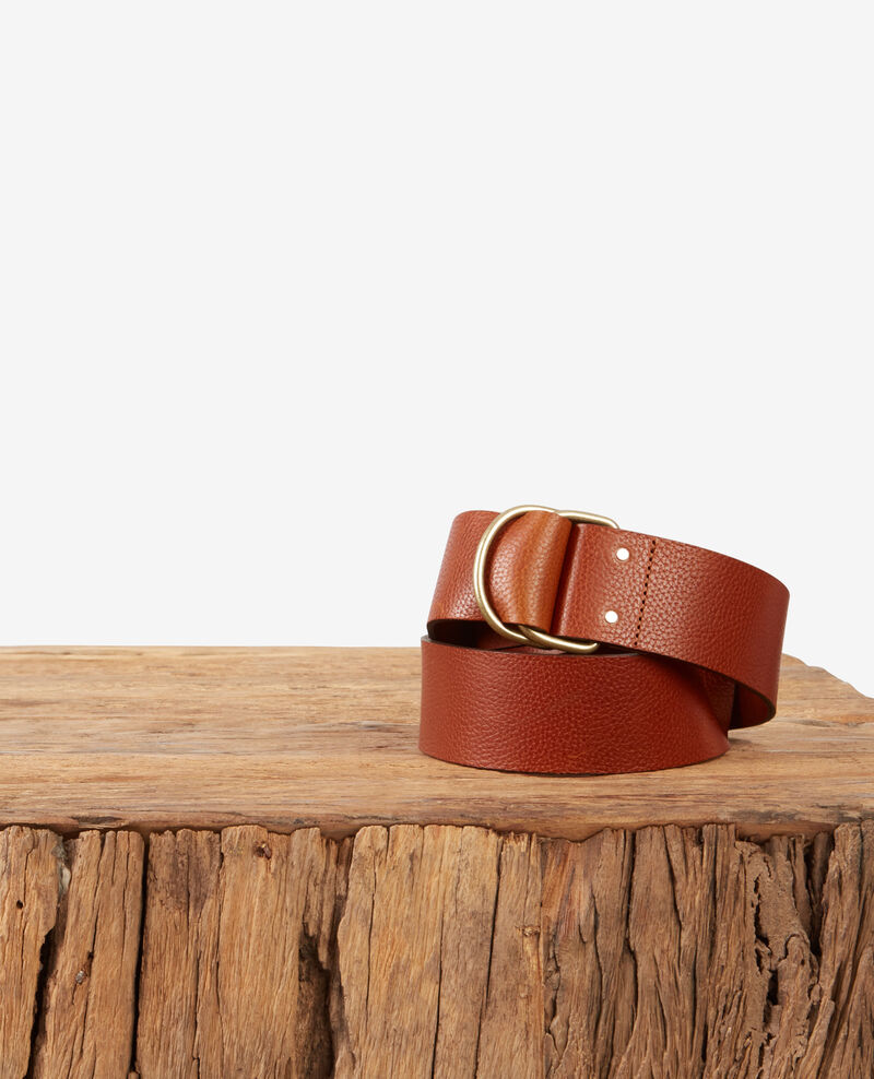 Leather belt Rust Deborah
