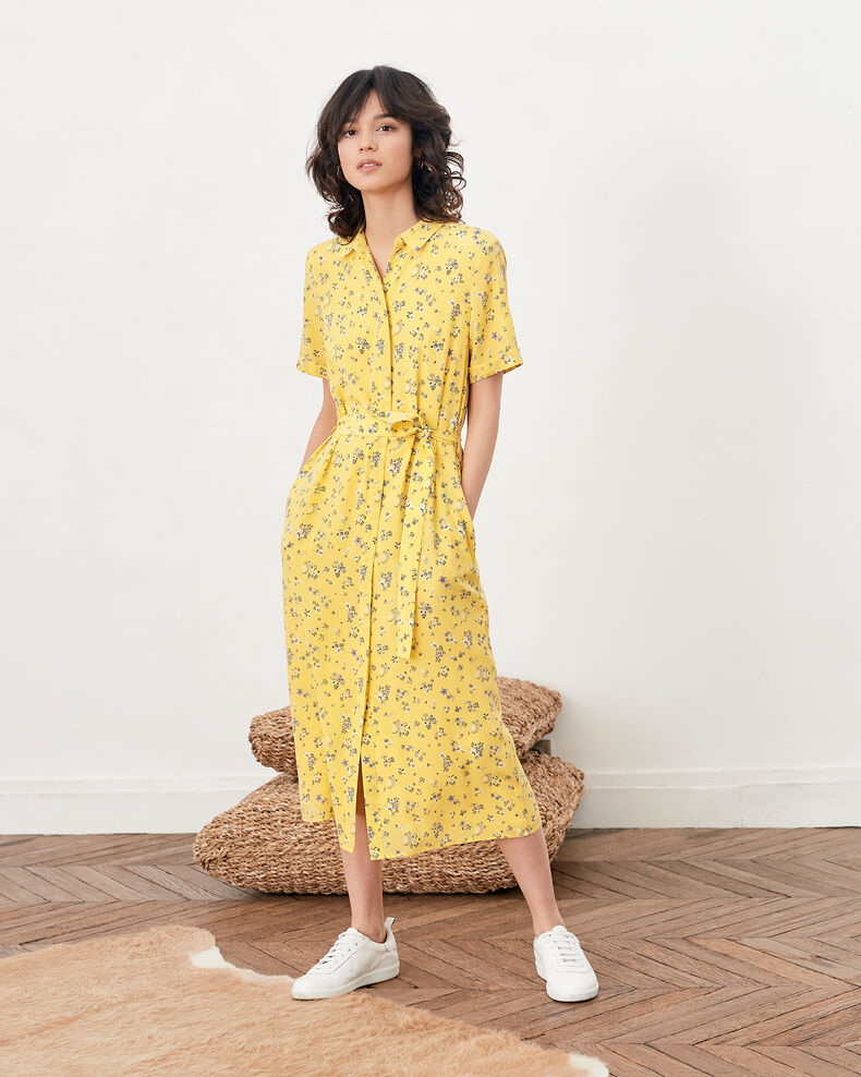 Printed dress LILLYBELL LEMON