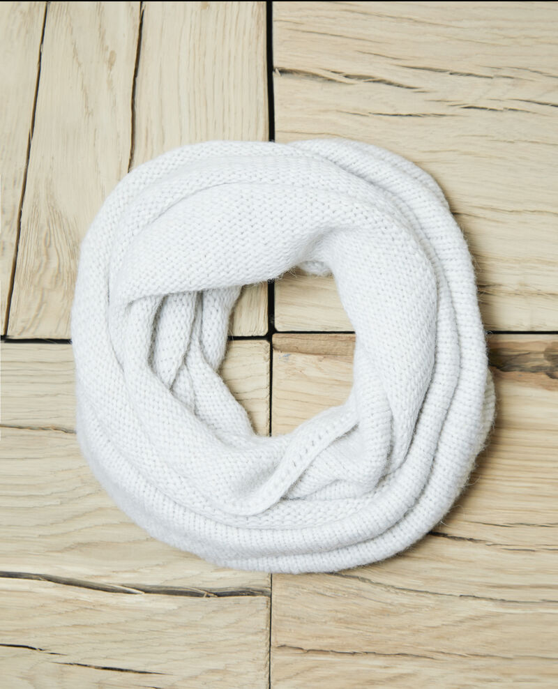 Chunky knit scarf Off white Glas