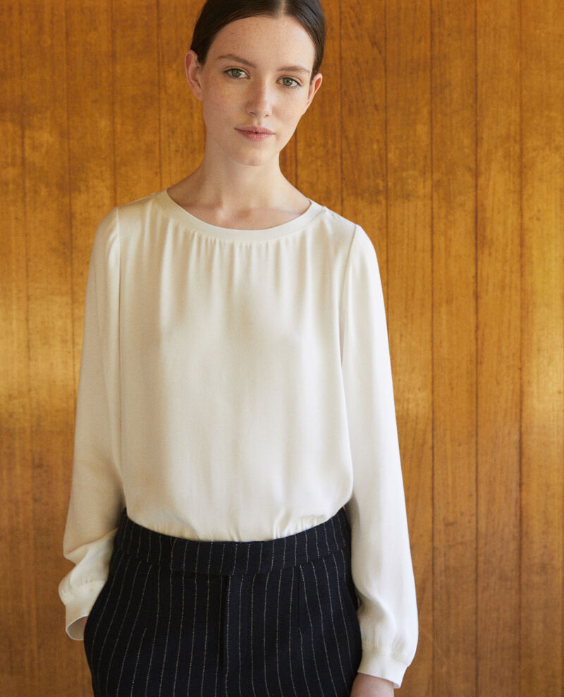 Loose blouse Off white Gentiane