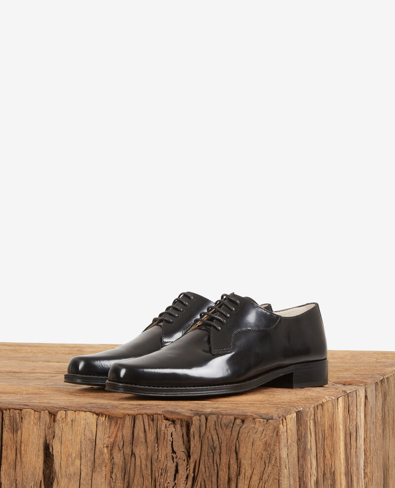 Leather derbies Noir Daumesnil