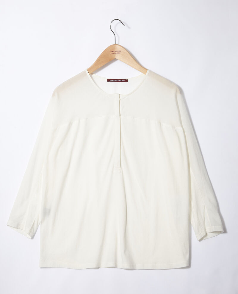 Fabric blend t-shirt Off white Genious