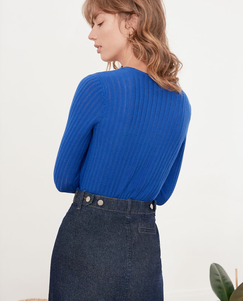Short jumper Ultramarine Funky