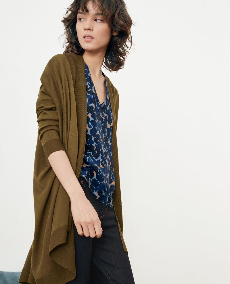 Cardigan DARK KAKI