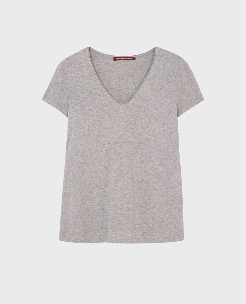 Sparkling T-Shirt Gris chine Cygne